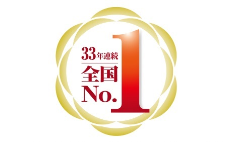 No.1 for 33 consecutive years in the number of real estate brokerage transactions